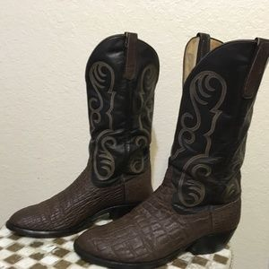 ANDERSON BEAN BROWN ELEPHANT BOOTS 10.5 E